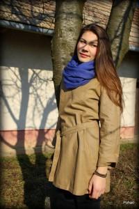 Obr. 8.2 Dámsky kabát z čistého ľanu od výrobcu Pohan